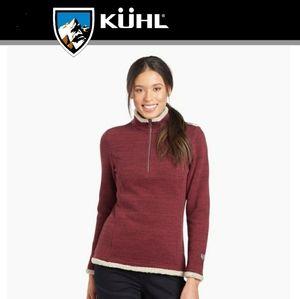 Kuhl Alaska ¼ Zip Pullover Shearling Sweatshirt